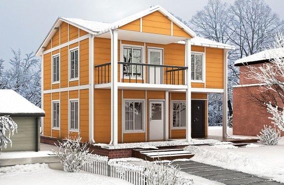 Prefabrikovaný dom  112 m²