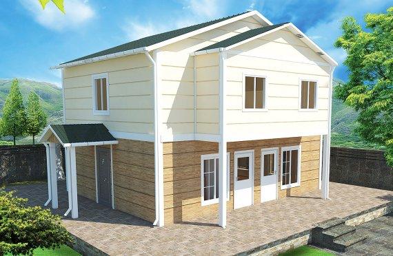 Prefabrikovaný dom  114m²