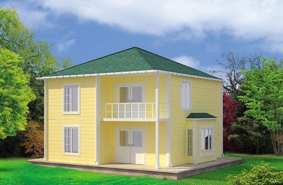 Prefabrikovaný dom 124 m²