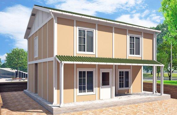 Prefabrikovaný dom 127 m²