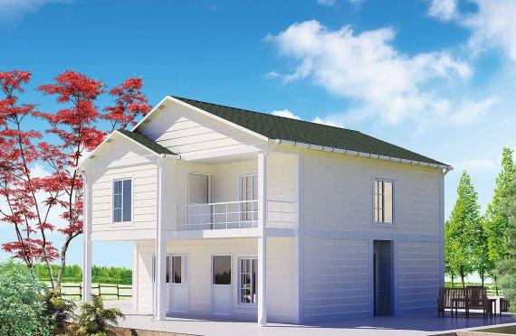 Prefabrikovaný dom 130 m²
