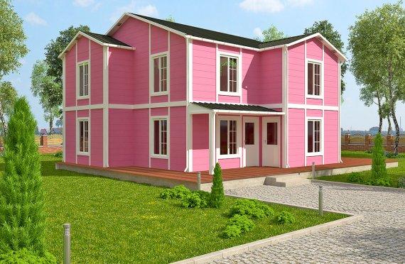 Prefabrikovaný dom 147 m²