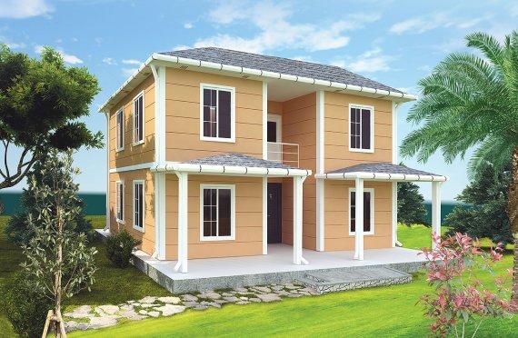Prefabrikovaný dom 148 m²