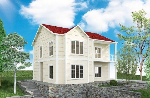 Prefabrikovaný dom 132 m²