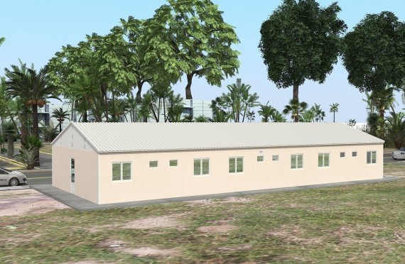 Modulárna ubytovacia jednotka 204 m²