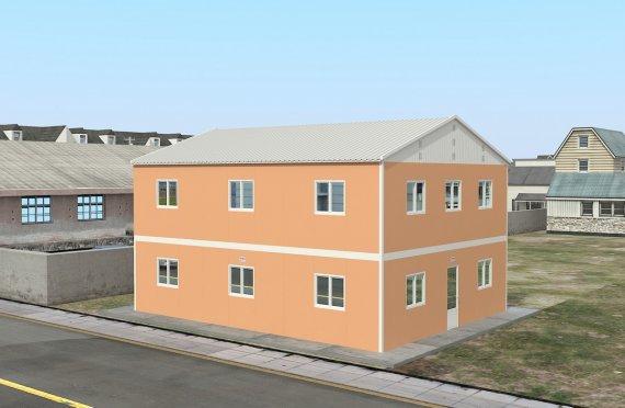 Modulárna ubytovacia jednotka 206 m²