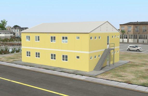Modulárna ubytovacia jednotka 348 m²