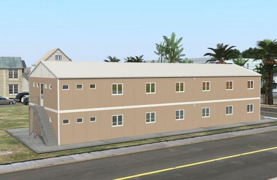 Modulárna ubytovacia jednotka 474 m²