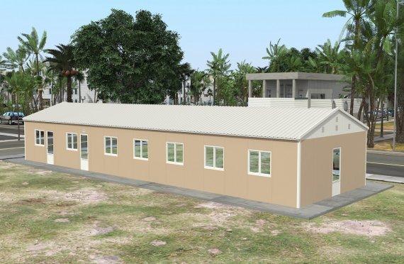 Prefabrikovaná komerčná kuchyňa 139 m²