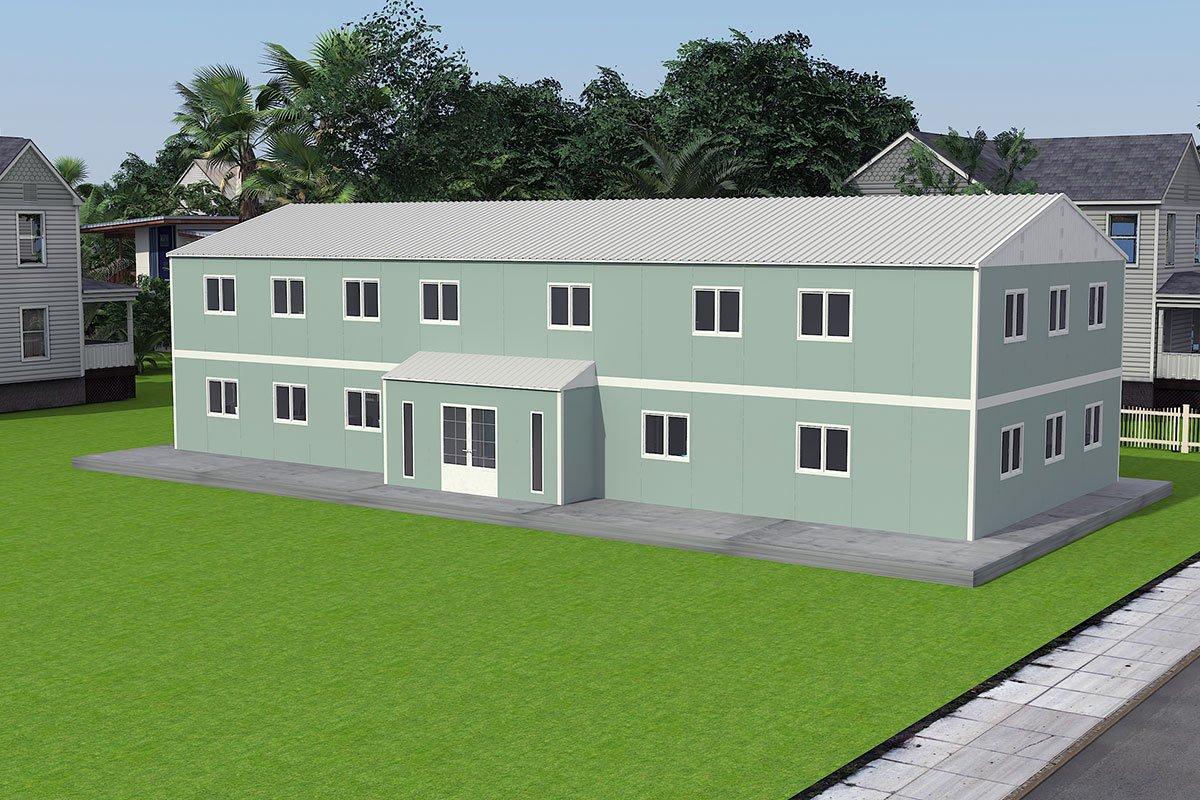 Modulárna kancelárska stavba 415 m²