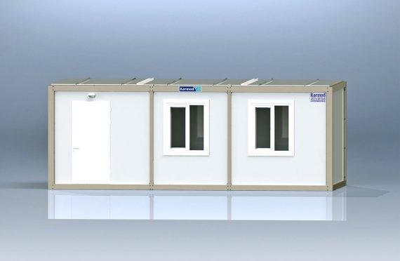 Skladací kancelársky kontajner K 8001