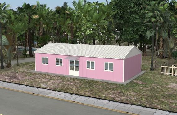 Modulárna kancelárska stavba 98 m²