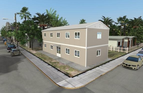 Modulárna kancelárska budova 214 m²