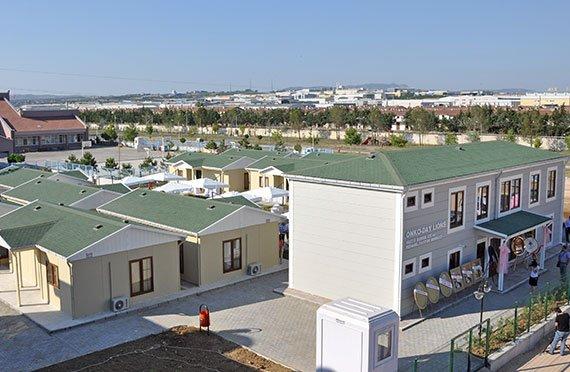Modulárne budovy pre ubytovne
