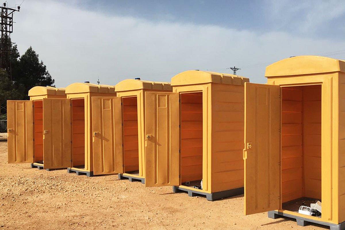 Plastové mobilné toalety