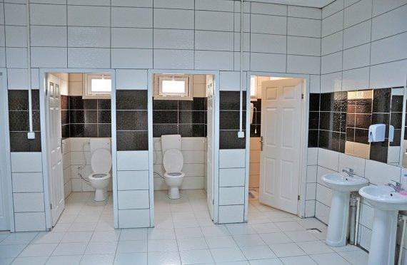 Modulové toalety a sprchy