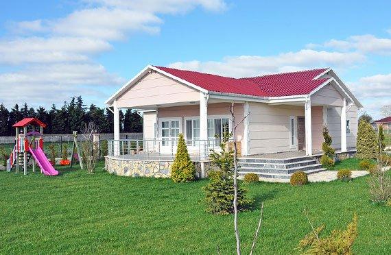 Jednopodlažné prefabrikované domy