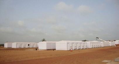 Karmod dokončil pracovný tábor s kapacitou 250 ľudí v Somálsku