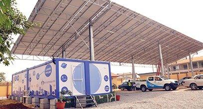 Kontajner novej generácie Karmod sa používa na skladovanie slnečnej energie v Nigérii