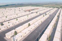 Projekt kontajnerového bývania pre sýrskych utečencov