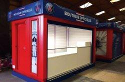 Karmod vyrobil PSG obchodné kiosky