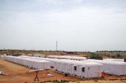 V Senegale dokončili inštaláciu modulárnych administratívnych kabín