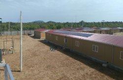 Karmod dokončil vojenské objekty v Nigérii