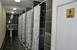 Montované WC- Sprcha jednotky